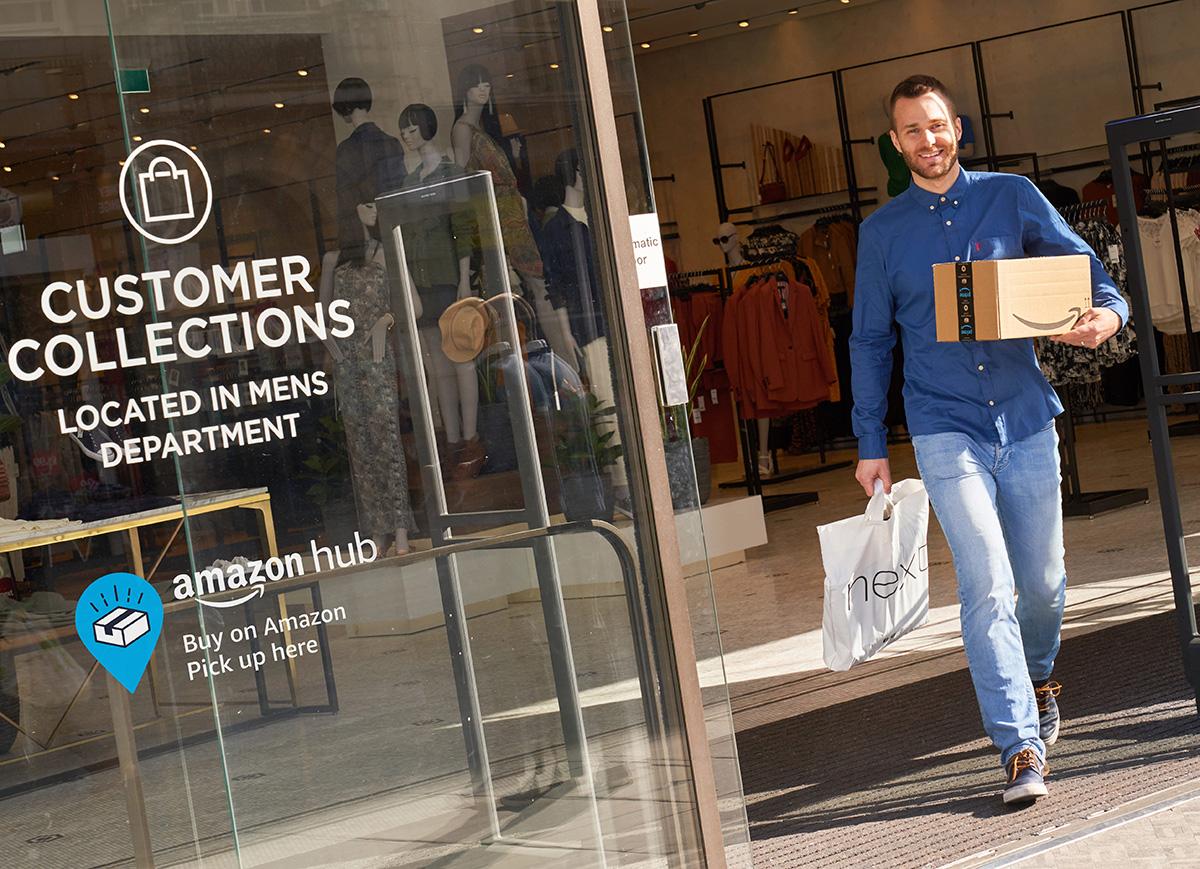 Amazon härmar PostNord - lanserar ombud på bred front