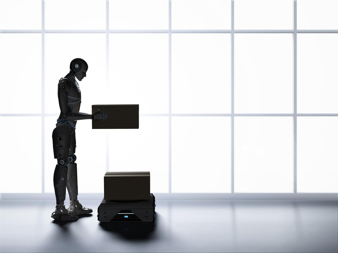 Tusentals jobb i fara när Amazon outsourcar till robotar
