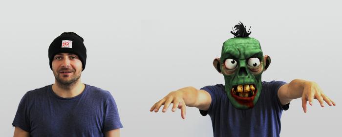 En zombie, är du helt yr i mössan?