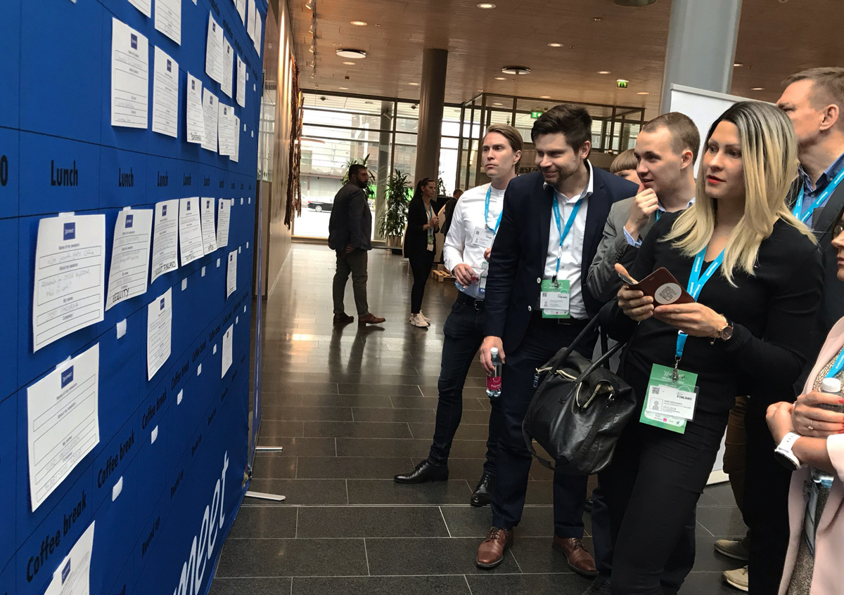 Emeet: En idéinjektion och sorlande e-handelsfest