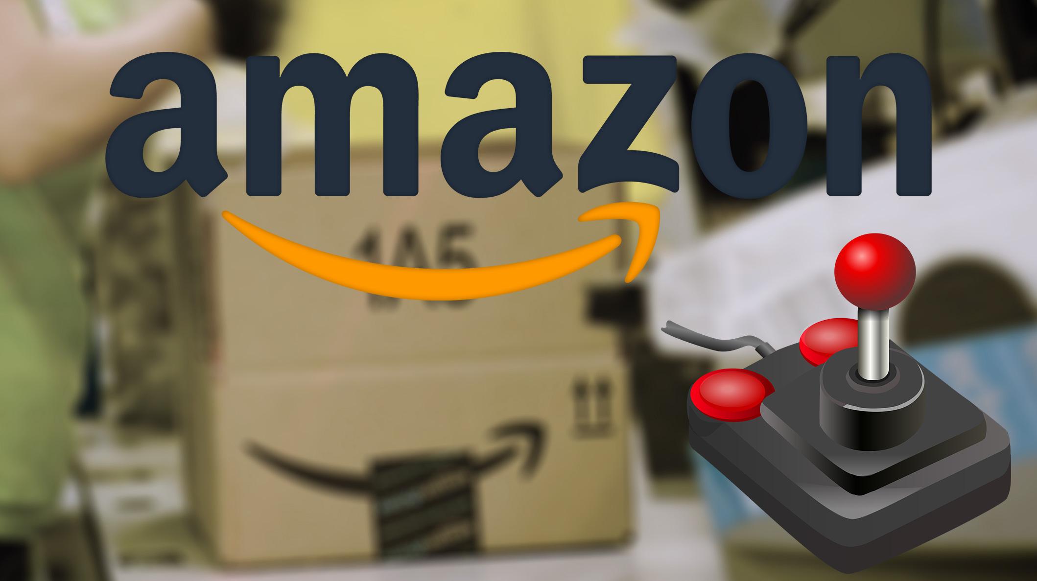 Amazon gör lagerarbetet till ett datorspel - bokstavligen