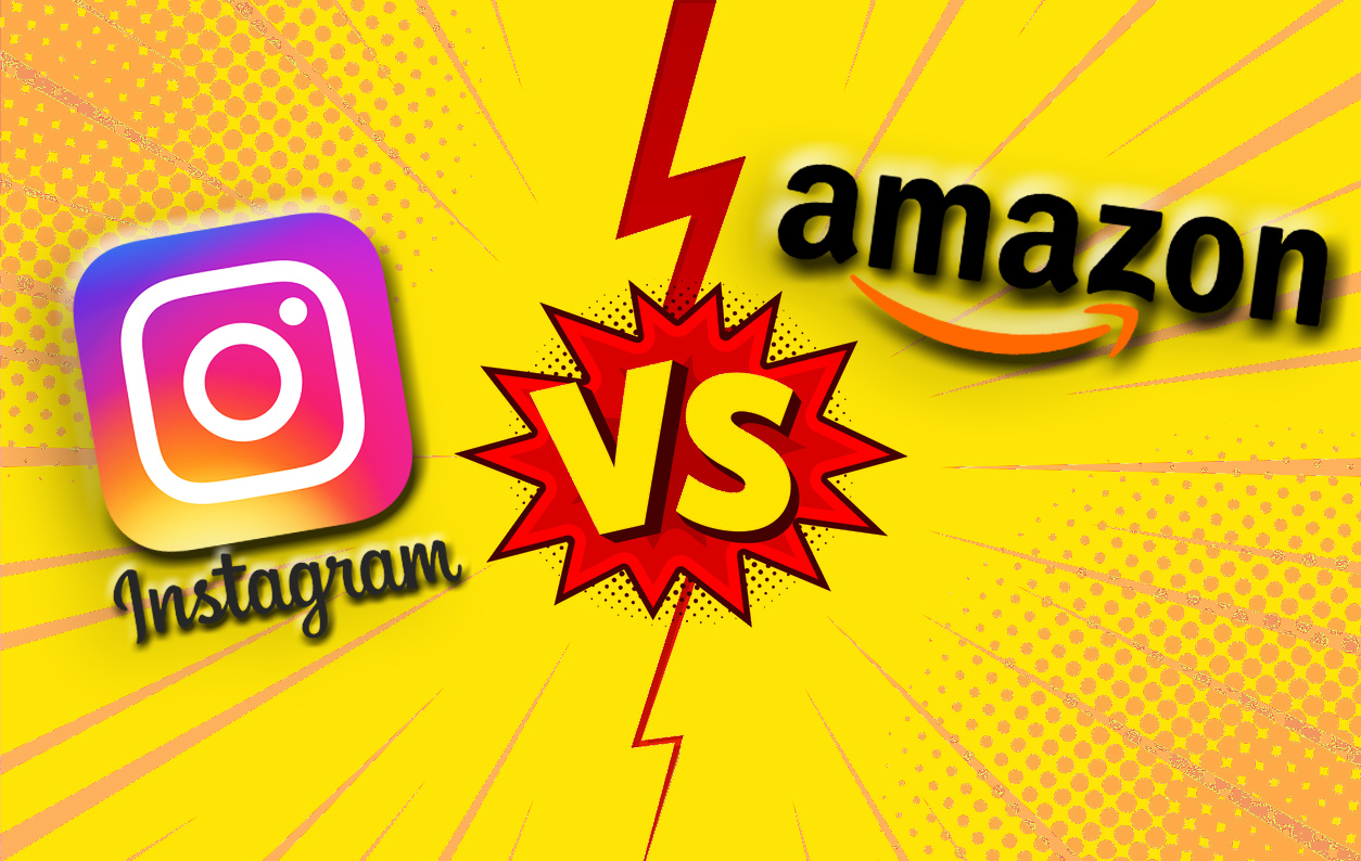 Instagram utmanar Amazon