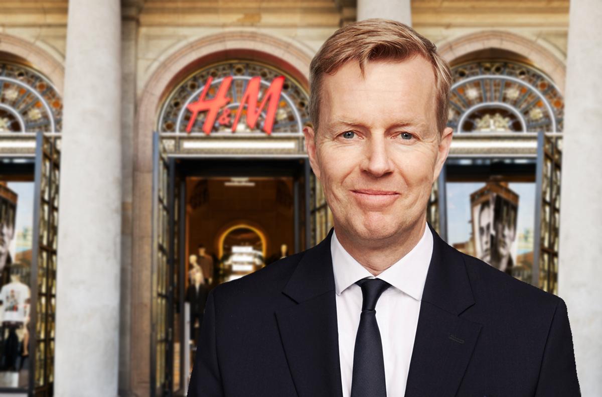 H&M-chefen om e-handeln i handen