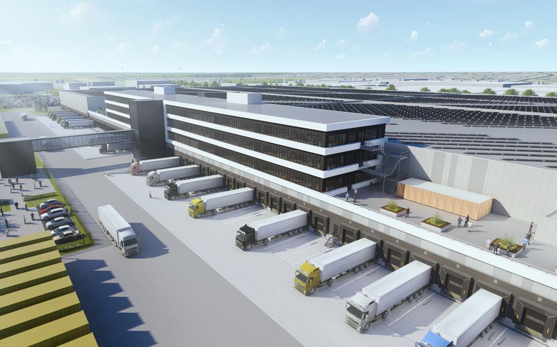 Zalando bygger supermodernt lager för över 2 miljarder