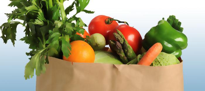 Matkassen ett hårt slag för livsmedelsbutikerna