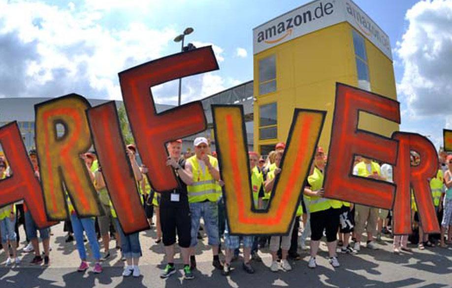 "Strejk på Amazon: ""Ingen mer rabatt på våra inkomster"""