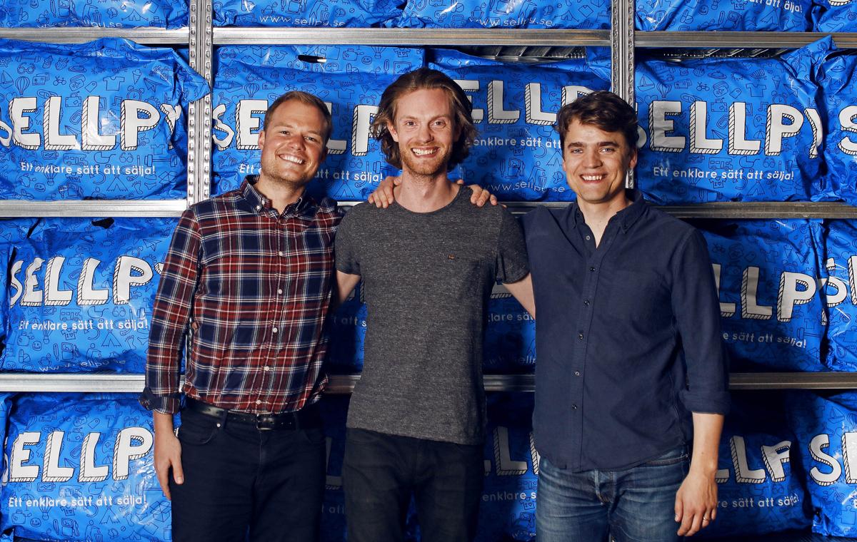 """Sellpy omsatte över 100 miljoner - """"Jobbar på alla fronter"""""""