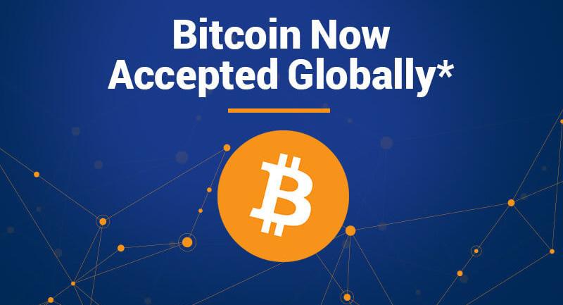E-handlare öppnar för Bitcoin-betalningar i hela världen