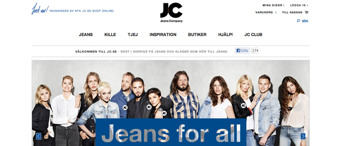 JC och Brothers ger sig in i E-handeln med nya butiker
