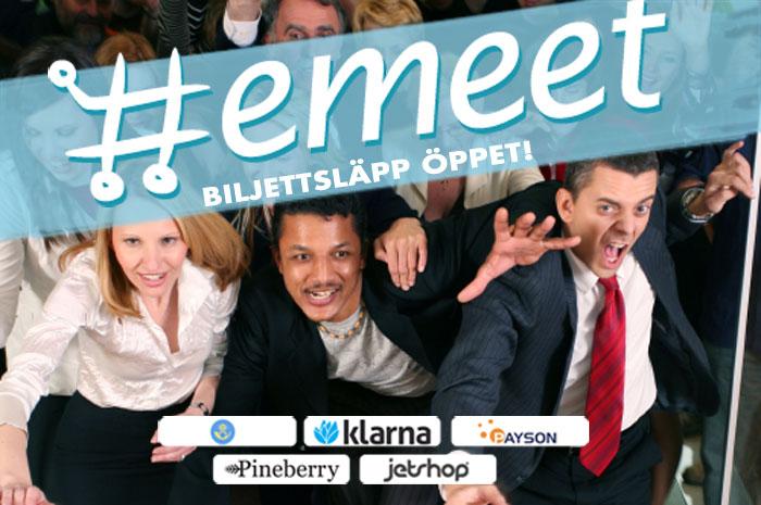 Biljetter till Emeet 4!