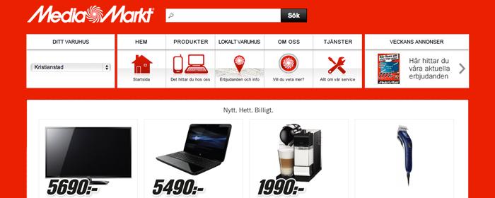 Media Markts E-handel lanseras innan årets slut