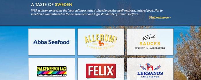 E-handeln som tar svensk mat till Storbritannien