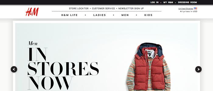 H&M satsar på M-handel & skjuter upp USA-lansering