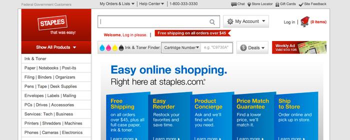 Staples satsar på E-handeln och stänger butiker