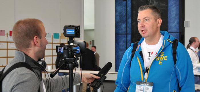 Peder intervjuar Peter och Per på Emeet