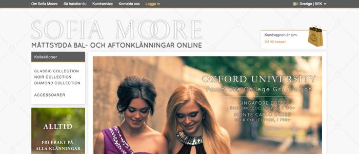 Nu kan du skräddarsy din balklänning på nätet