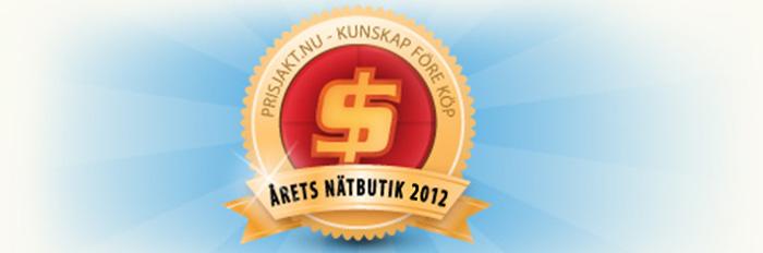 Nominera till Årets nätbutik hos Prisjakt