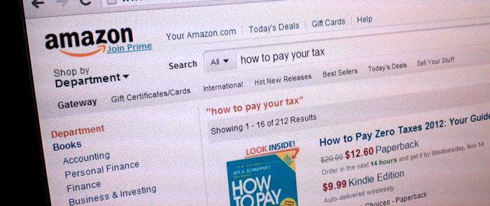 Amazon får svara på frågor över påstådd skatteflykt