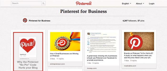 Pinterest öppnar upp för företag och varumärken