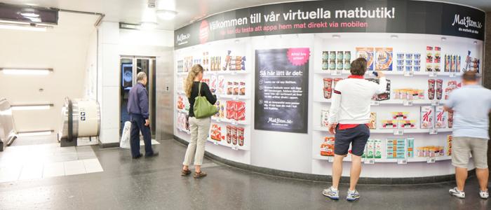 MatHem prisade för sin virtuella butik och mobilapp