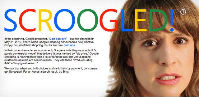 Microsoft går hårt åt Google Shopping i ny kampanj