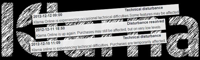 Klarna blir tagna på sängen av den extrema E-handeln