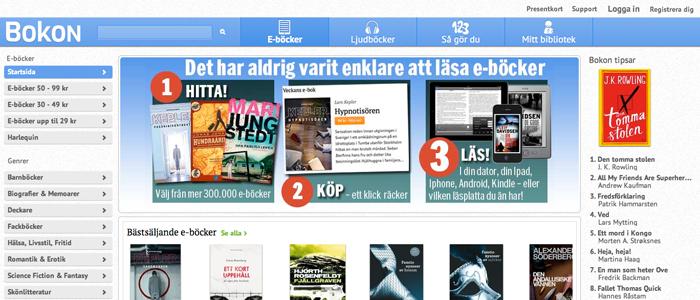 Nystartade Bokon ska öka intresset för E-böcker