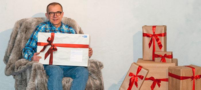 Rekordmånga E-julklappar i år för landets brevbärare