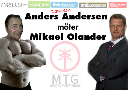 Anders Andersen möter Mikael Olander på MTG Internet Retailing