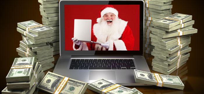 E-julen i USA slog rekord trots krisande ekonomi