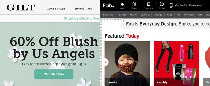 """Är """"Flash sales"""" storhetstid förbi inom E-handeln?"""