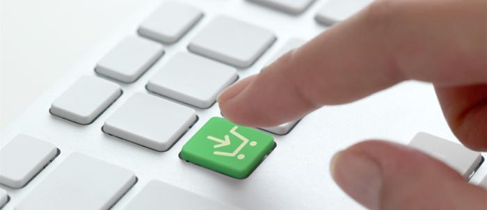 E-handeln passerade 1 biljon dollar förra året