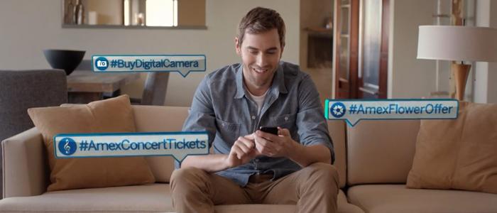 #Ehandla på Twitter med American Express