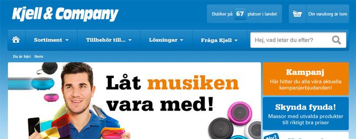 Kjell & Companys e-handel bakom rekordresultat