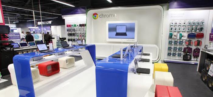 Google planerar att öppna fysiska butiker