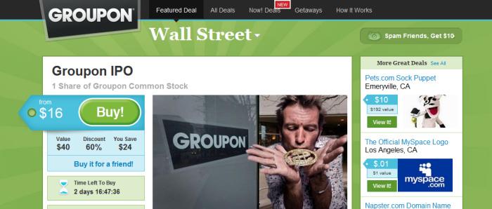 Groupons aktie störtdök efter missad prognos