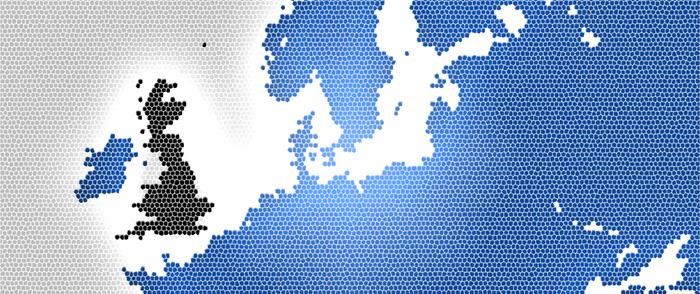 Storbritannien dominerar näthandeln över gränserna