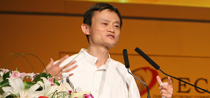 Alibabas vd Jack Ma dissar Amazons affärsmodell