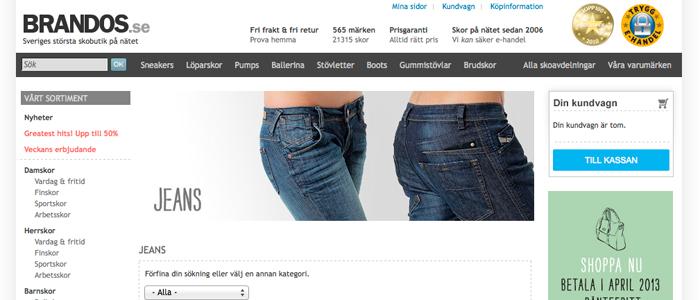 Brandos blir en av Nordens största jeansbutiker