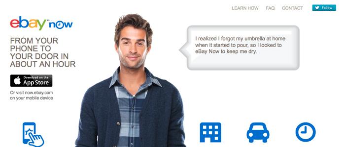 eBay expanderar sin tjänst för snabba leveranser