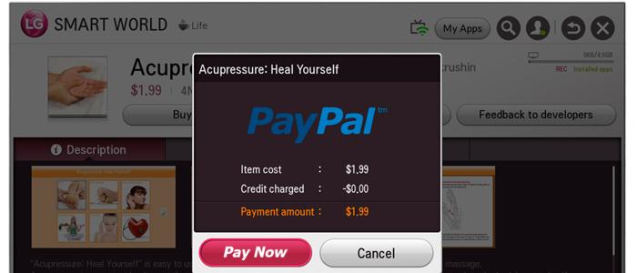 LG och PayPal i samarbete för smartare TV-betalning