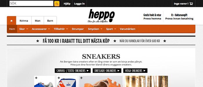 CDON Group säljer Heppo till nätbutiken Footway