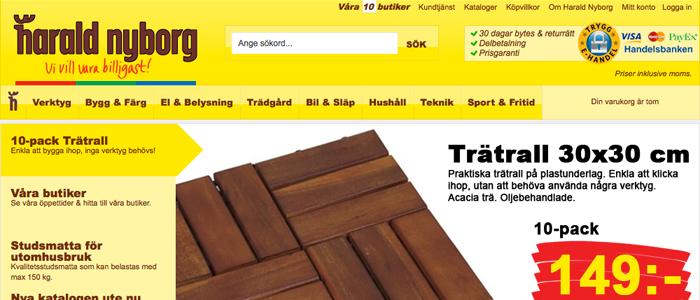 Harald Nyborg lanserar en skalbar E-handel i Sverige