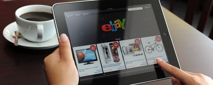eBay ökar sin försäljning över hela världen