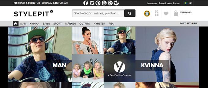 StylePit väljer Klarnas kassa för sin mobila handel