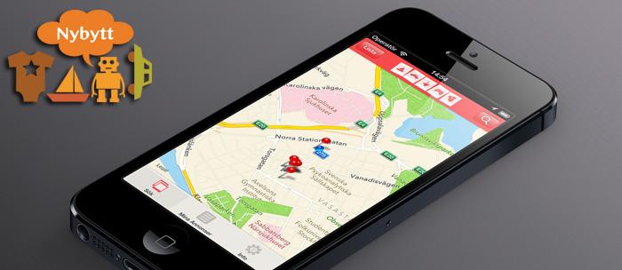 NyBytt går om Blocket och Tradera i App Store
