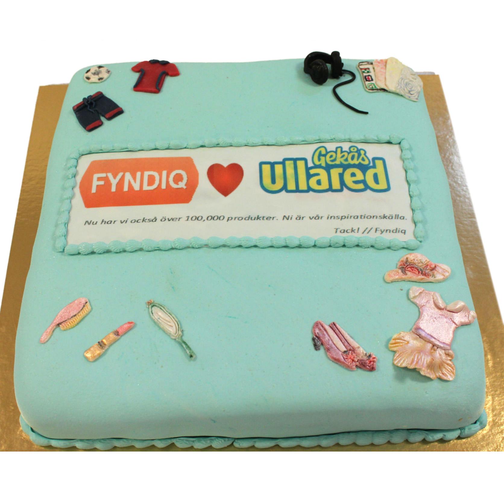 Fyndiq bjuder på Tårta - når 100 000 produkter