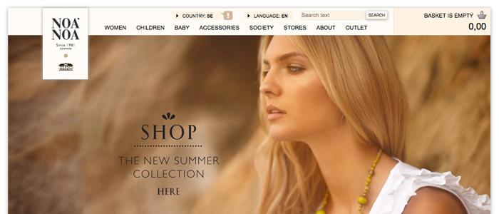 Dansk modejätte öppnar upp  sin e-handel för Sverige
