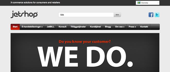 Ny applikation avslöjar svenskens E-handelsvanor