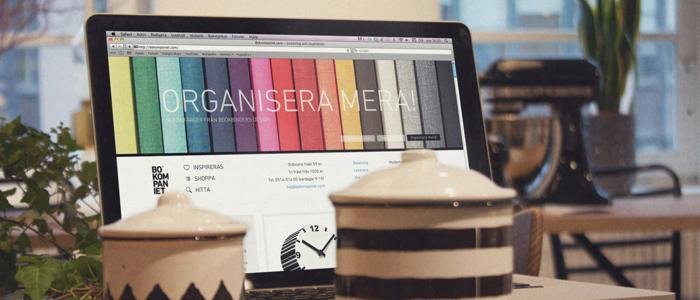 Nätbutiken Bokompaniet ska inspirera till köp